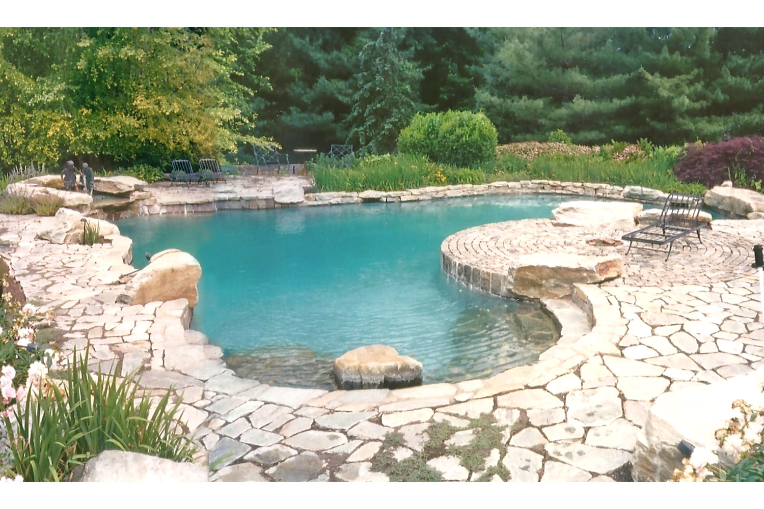 New Pool Construction: Upper Makefield, PA. Designed by renowned local architect!