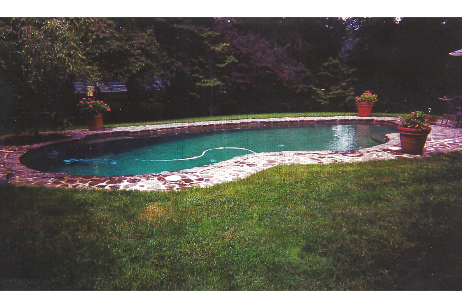 Renovation: Stone Coping Tile, New Hope, Bucks County, PA