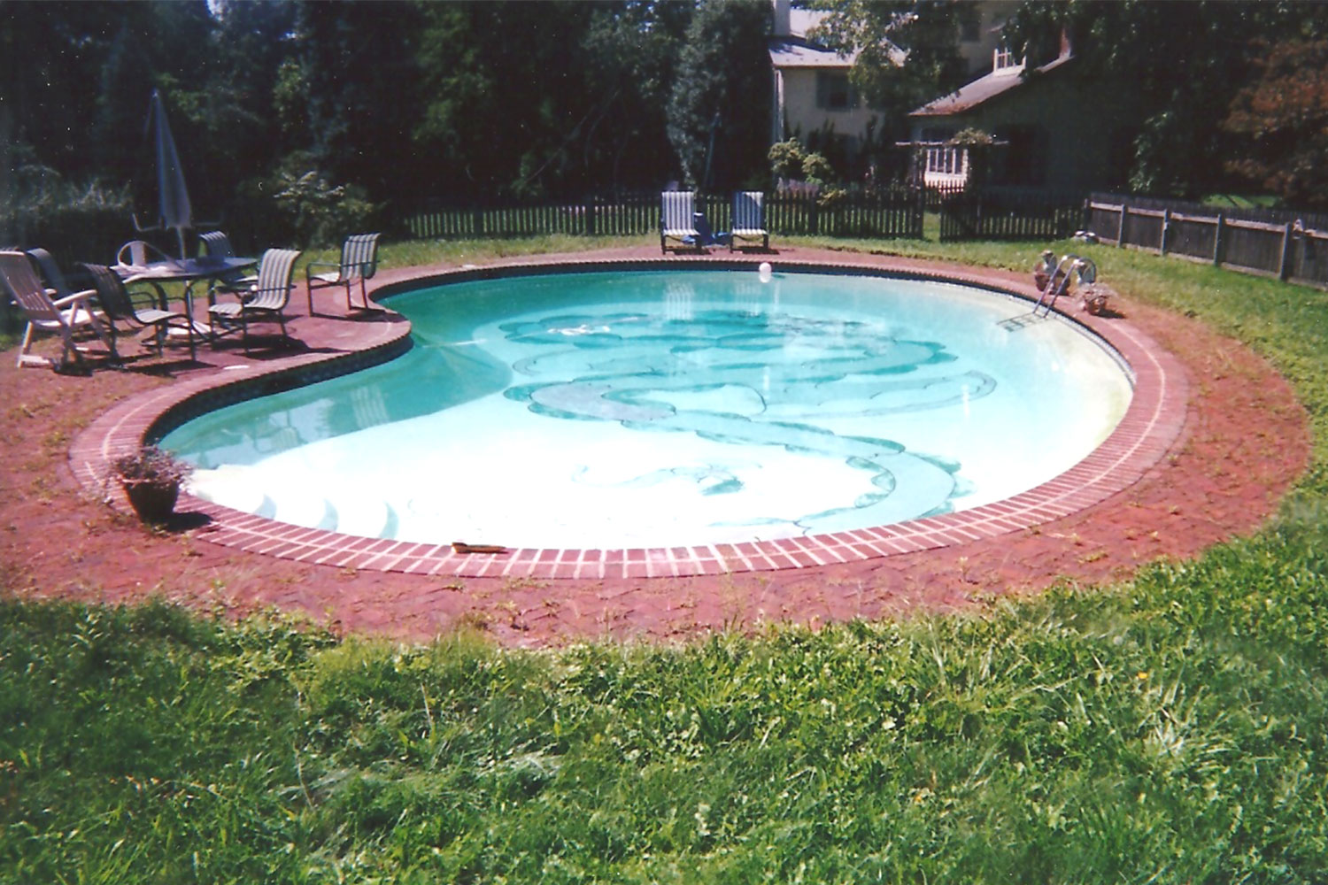 Renovation: Brick Deck and Coping Tile, Doylestown, PA