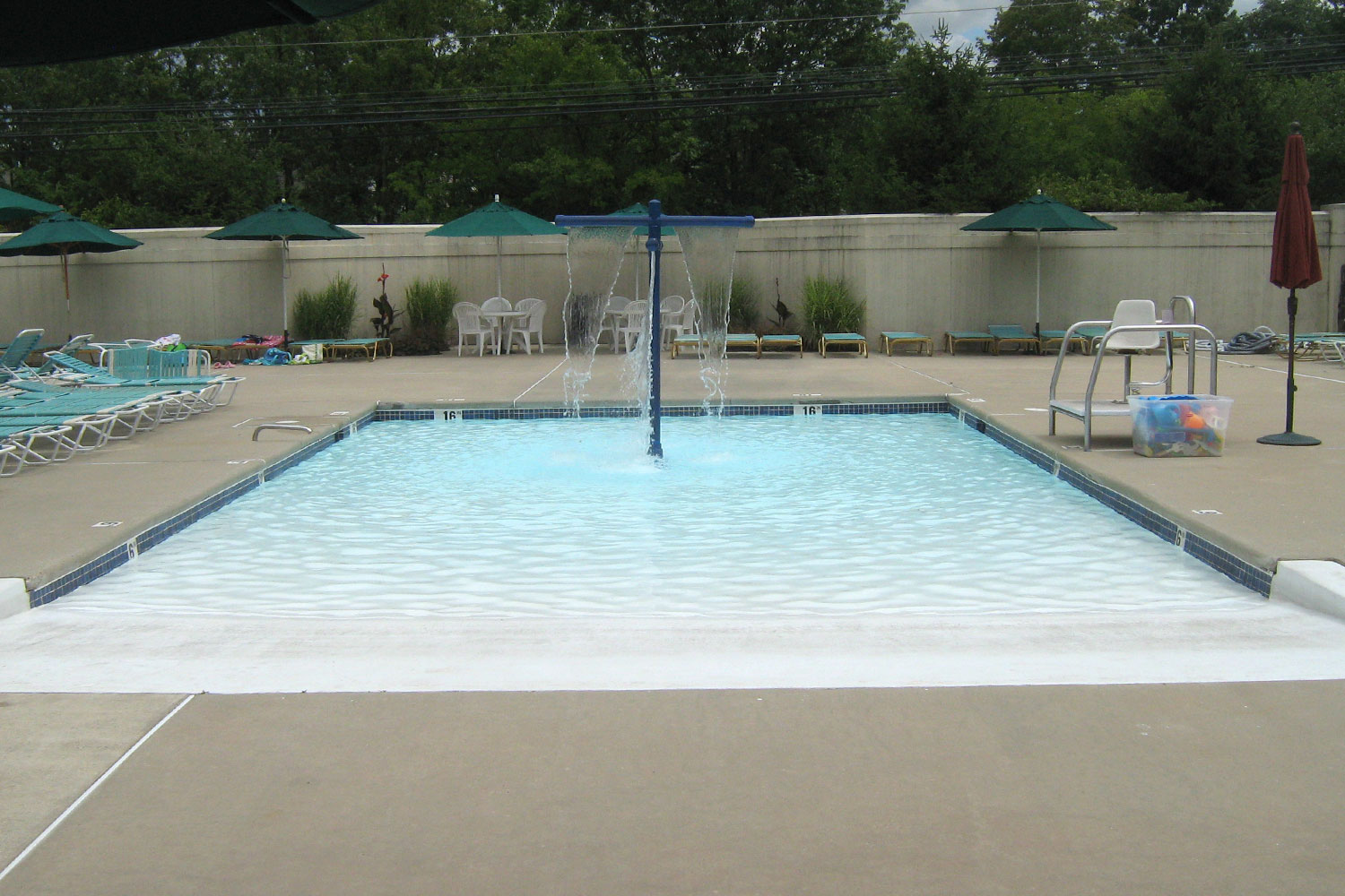 New Construction, The Bucks Club: Zero-Entry Wading Pool, New Filtration System, Jamison, PA